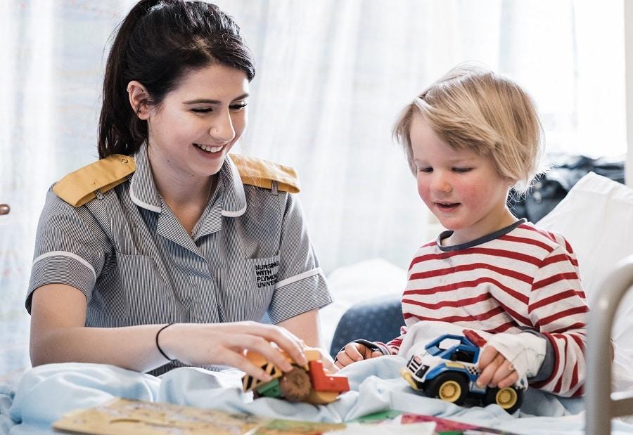 Lizzie - child health student nurse
